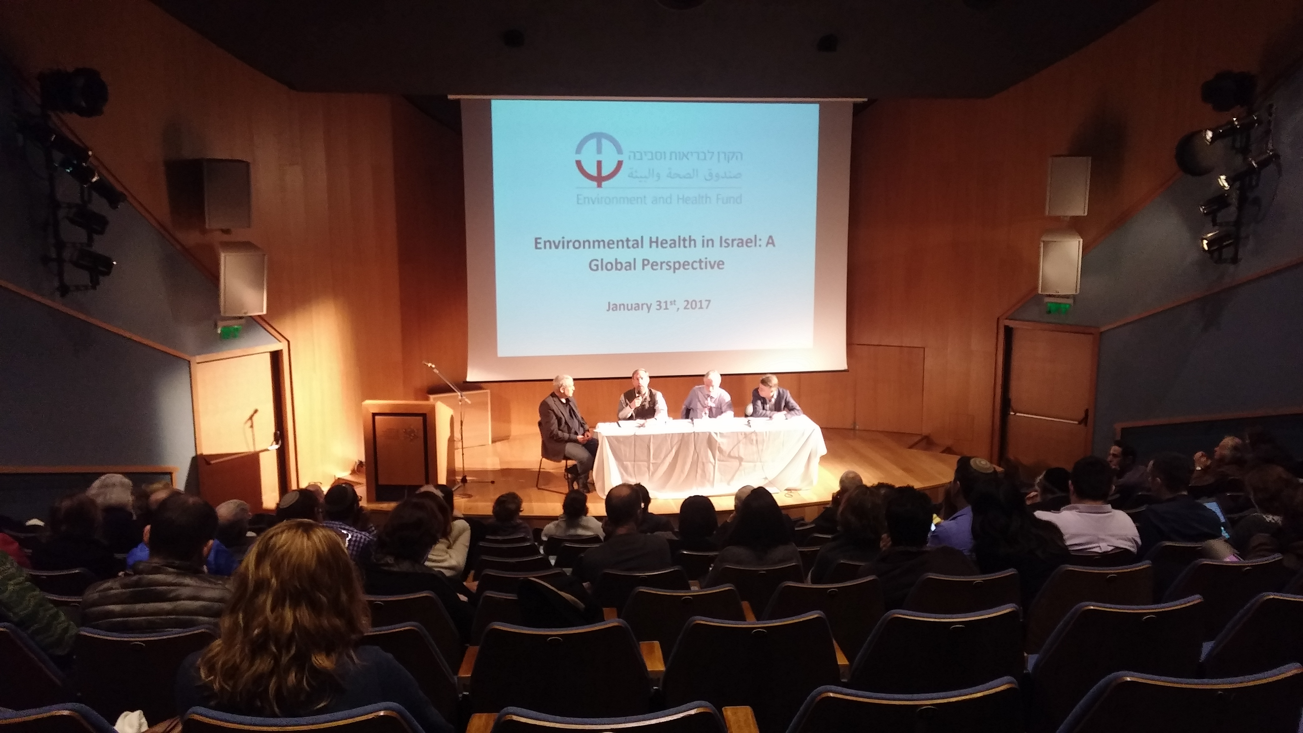 Image from Environmental health in Israel from a global perspective panel January 2017