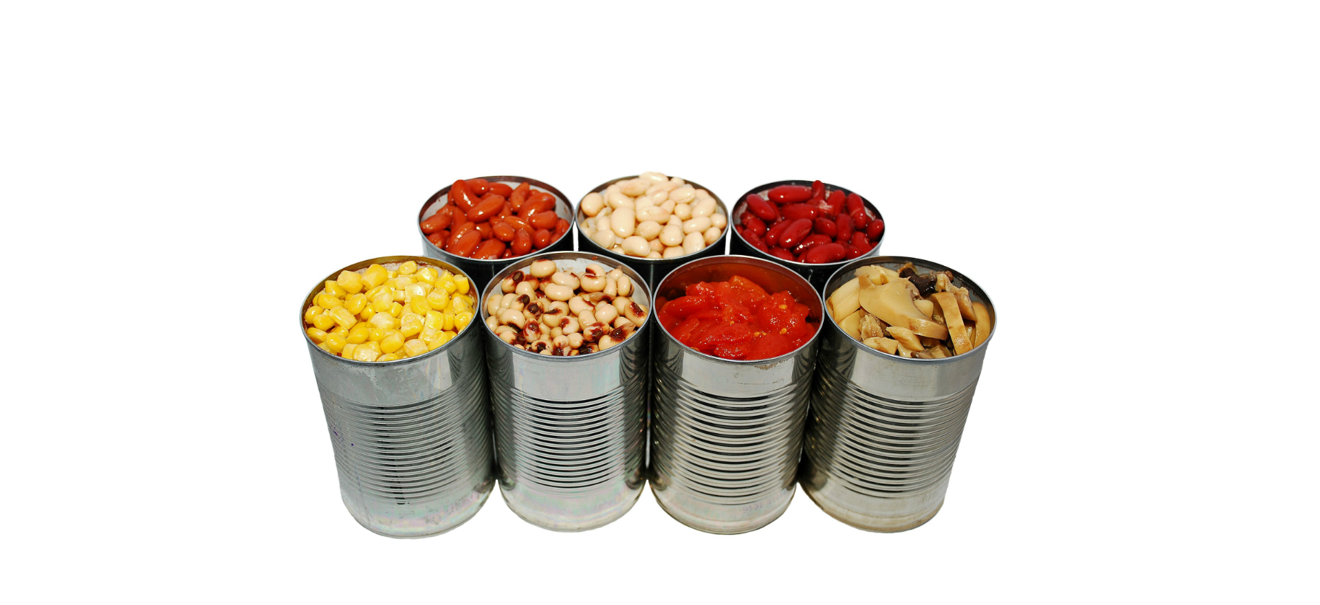image of canned foods