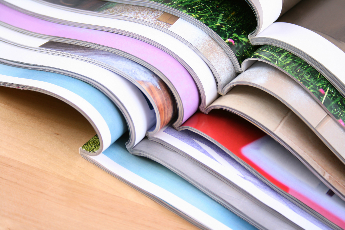 Image of various magazines