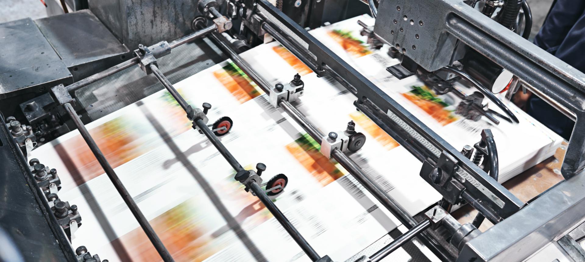 Image of print press