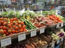 organic vegtables