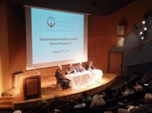 Environmental Health in Israel: A Global Perspective - Panel Attendees Speaking