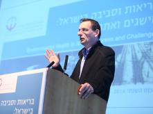 speaker on podium during 2014 EHF conference
