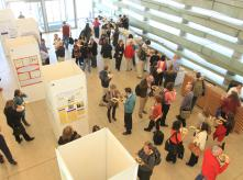 image of crowd during poster session in EHF's 2012 conference