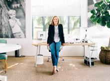 Gregg Renfrew at her office - The new York Times