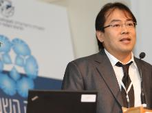 Image of Prof. Chensheng Lu during 2012 ISEES conference
