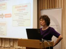 Image of Dr Linda Birnbaum from 2011 workshop