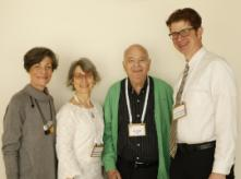 Keynote Speakers with Prof. Ilan Chet, EHF's Board Chairman and Dr. Ruth Ostrin, EHF's Director