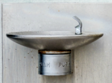 image of water fountain