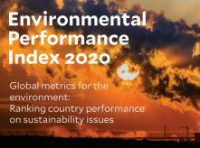 Environmental performance index 2020