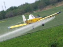image of crop duster