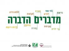 banner of pesticide use in israel public conference 2014