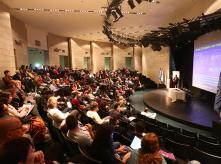 crowd in auditorium during EHF 2013 conference