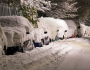 image of snow on cars