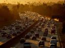 image of cars in traffic jam