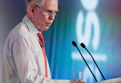 Jeremy Grantham, co-founder and chief investment strategist of Grantham Mayo van Otterloo, speaks at the ReSource 2012 conference in Oxford, England. Getty Images