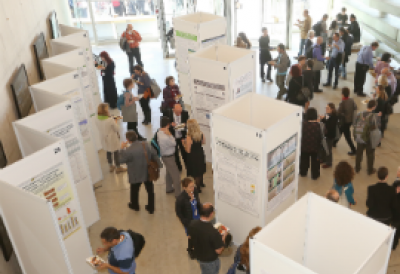 image of poster session from past EHF conference
