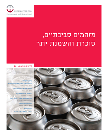 cover of EHF's 2013 magaizne dealing with diabetes and obesity